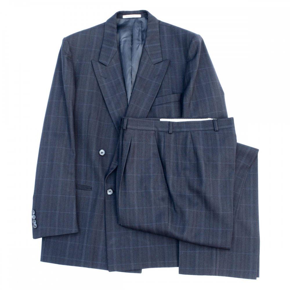 古着 通販 イブサンローラン ヴィンテージ スーツ セットアップ【Yves Saint Laurent】【1970's-】ダブル ブレスト