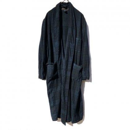 古着 通販 ヴィンテージ 後染め ブラック ウール ガウン【Made in Great Britain】Vintage Over Dyed Wool Gown