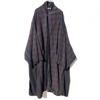 古着 通販 ピンプスティック【pimpstick】リメイク コットン ネル オーバー ガウン Remake Over Gown