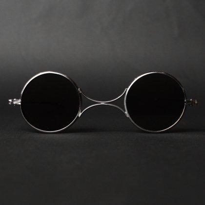 古着 通販 アンティーク メガネ【1800's~】セーフティ ゴーグル サングラス- ラウンド メタル