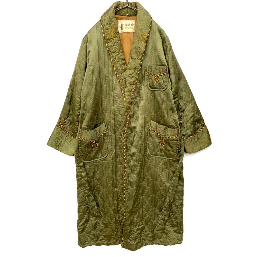 古着 通販 ヴィンテージ スーベニア シルクサテン ガウン【1950's】Vintage Souvenir Robe