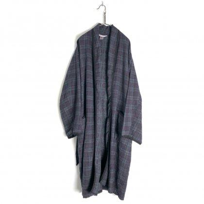 古着 通販 ヴィンテージ フランネル ガウン【1970's】Vintage Piece Dyed Vintage Flannel Robe