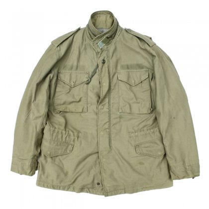 古着 通販 ヴィンテージ M-65 フィールド ジャケット【US ARMY】【Early 1970s-】3rd グレーライナー