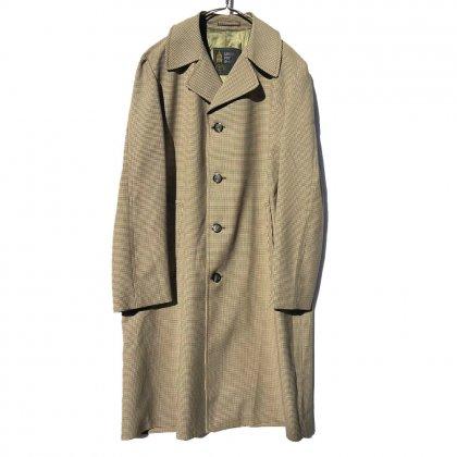 古着 通販 ヴィンテージ シングル コート【LONDON FOG】【ロンドンフォグ】Vintage Houndstooth Check Coat