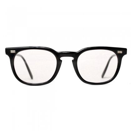 古着 通販 アメリカンオプティカル ヴィンテージ メガネ【American Optical】【1960's-】Slender Frame ブラック 46-22