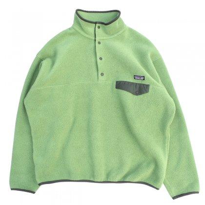 古着 通販 パタゴニア【patagonia】フリース シンチラ スナップT【F0 Fresh Green】Mens L