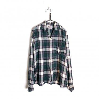 古着 通販 ヴィンテージ オープンカラー レーヨンシャツ【1960's】【BRENT】Vintage Open Collar Rayon Shirt