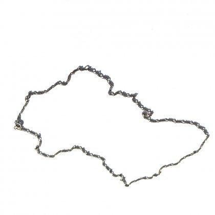古着 通販 ヴィンテージ シルバー チェーン ネックレス【MADE IN ITALY】【Silver925】Vintage Silver Chain Necklace