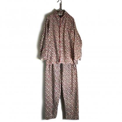 古着 通販 ヴィンテージ セットアップ パジャマ【1970s】Vintage Set up Pajamas