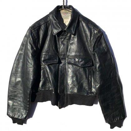 古着 通販 ヴィンテージ A-2 タイプ フライトジャケット レザージャケット【RALPH EDWARDS SPORTSWEAR】【1960s】Vintage A-2 Leather Jacket