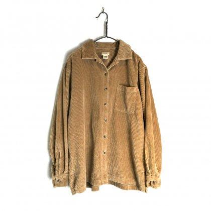 古着 通販 ヴィンテージ コーデュロイ シャツ【L.L.Bean】【1990's】Vintage Corduroy Shirt