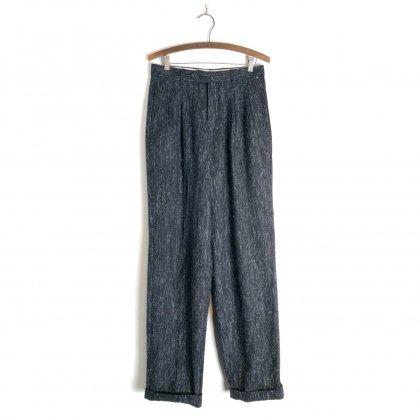 古着 通販 ヴィンテージ 2タック ネップ トラウザーズ【1980's】Vintage 2-tuck Nep Trouser