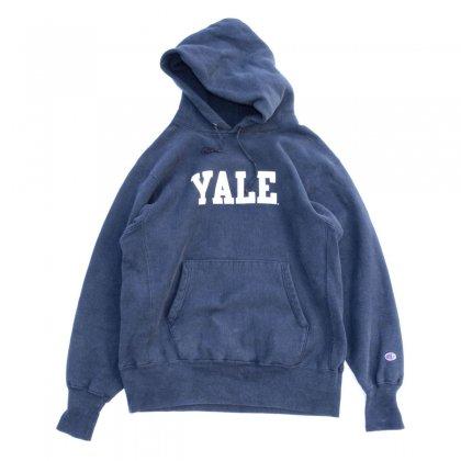 古着 通販 チャンピオン リバースウィーブ ヴィンテージ プルオーバー パーカ【Champion】【YALE】【1990's-】D.Navy