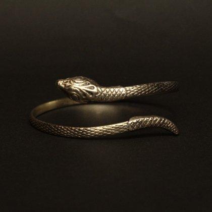 古着 通販 ヴィンテージ スネーク バングル アームレット【1930's- Brass 】Snake Motif