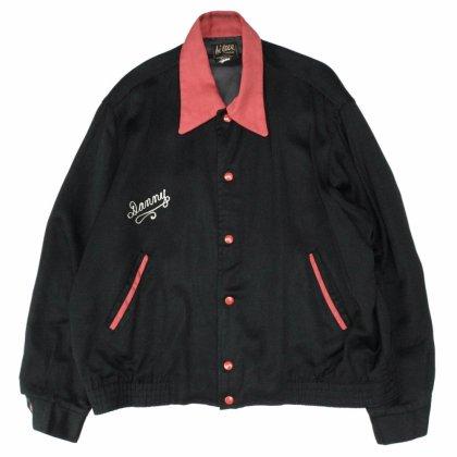 古着 通販 ヴィンテージ ギャバジン ジャケット ブラック【1950's-】【Hi Teen Fashions】バイカーズ クラブ