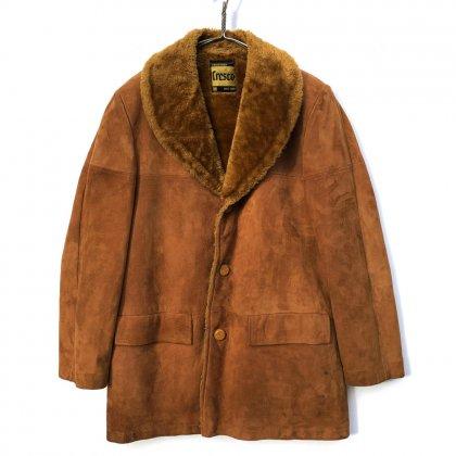 古着 通販 ヴィンテージ フェイクムートン ギャングコート【1970's】【CRESCO】Vintage Fake Muton Gang Coat