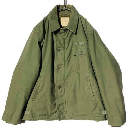 古着 通販 A-2 デッキジャケット 裏ボア【U.S.NAVY】【1970's】Vintage Deck Jacket