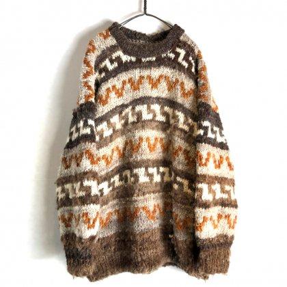 古着 通販 ヴィンテージ ハンドニット【1970's】Hand Knitting Vintage Sweater