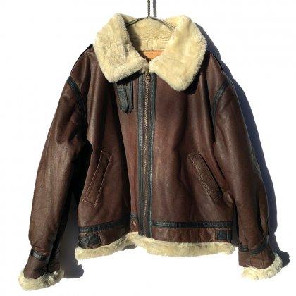 古着 通販 B-3 フライトジャケット ボア レザージャケット【1990's】Vintage B-3 Flight Jacket