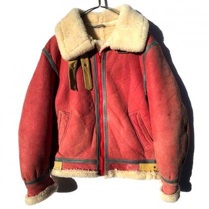 古着 通販 B-3 シープスキン フライトジャケット ムートンジャケット【BLUE DUCK】【1980's】Vintage B-3 Flight Jacket Sheepskin Jacket