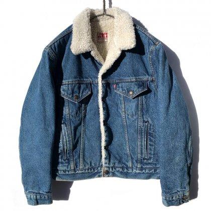 古着 通販 リーバイス【Levi's 70608】ヴィンテージ ボアライナー デニムジャケット【1980's】Vintage Boa Denim Jacket