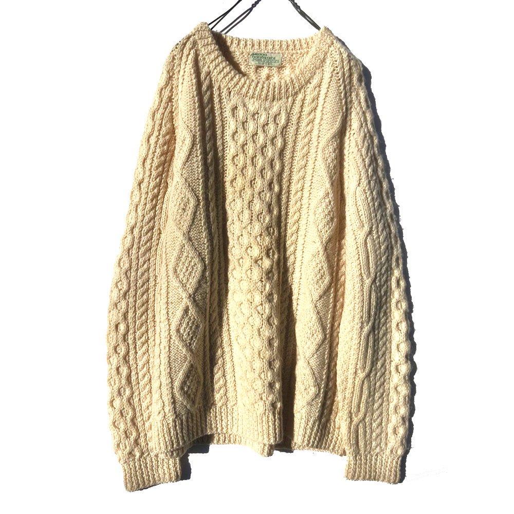 古着 通販 ヴィンテージ ハンドメイド アランニット フィッシャーマン【crana nanoknits】【1970's】Vintage Fisherman Sweater