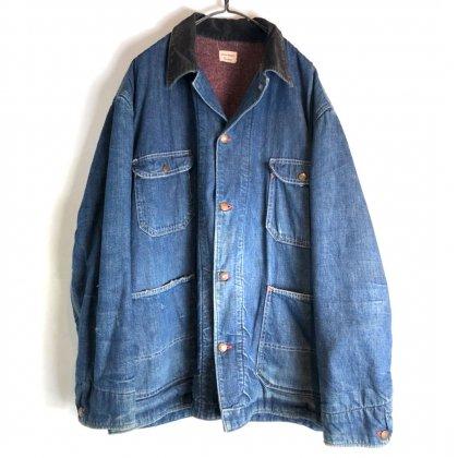 古着 通販 ビッグマック【BIG MAC】ヴィンテージ ブランケットライニング デニムジャケット【1960's】Vintage Blanket Lining Coverall Jacket