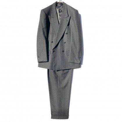 古着 通販 ヴィンテージ ダブルブレスト スーツ セットアップ【1980's】【PAULO S LARI】Vintage Double Breasted Suits