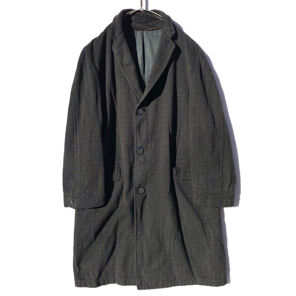古着 通販 ヴィンテージ ウォッシュド リメイク テーラード コート【1950's-】【GOLDEN EMBLEM】Vintage Wool Coat