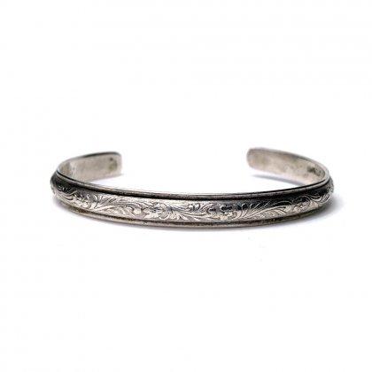 古着 通販 ヴィンテージ インディアンジュエリー シルバーバングル【STERLING】【1970's】Vintage Silver Bangle