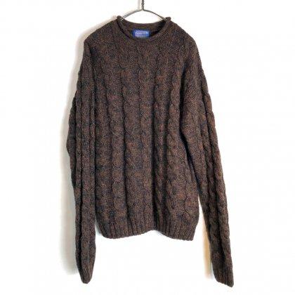 古着 通販 ペンドルトン【PENDLETON】ヴィンテージ モックネック ニット【1990s-】Vintage Mockneck Sweater