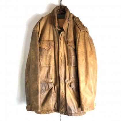 古着 通販 M-65 ヴィンテージ レザージャケット【1980's】Vintage Leather Field Jacket