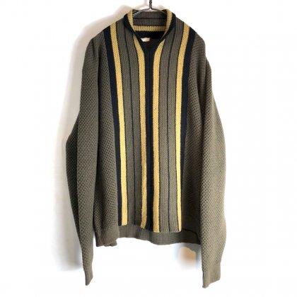 古着 通販 ヴィンテージ ショールカラー ニット【1960's】【LORD JEFF】Vintage Shawl Collar Sweater