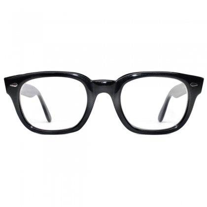 古着 通販 アメリカンオプティカル ヴィンテージ メガネ【American Optical】【1960's-】【Manhattan ウェリントン】 ブラック 48-24