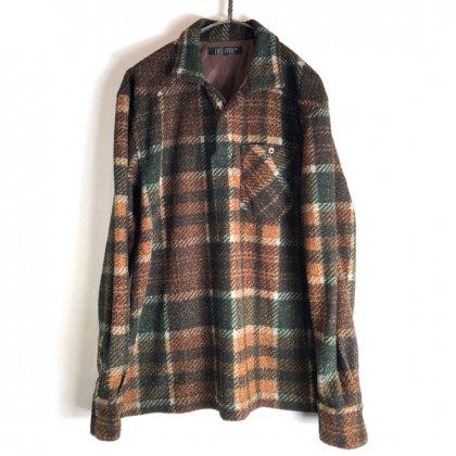 古着 通販 ヴィンテージ プルオーバー フランネルシャツ【1990's】【DÉCOUVRIR】Vintage Pullover Flannel Shirt