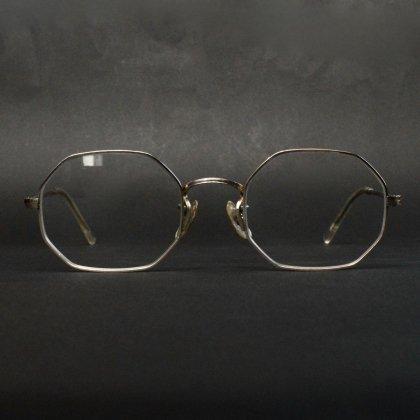 古着 通販 ヴィンテージ オクタゴン メガネ アートクラフト【ART CRAFT】【1960's-】12KGF