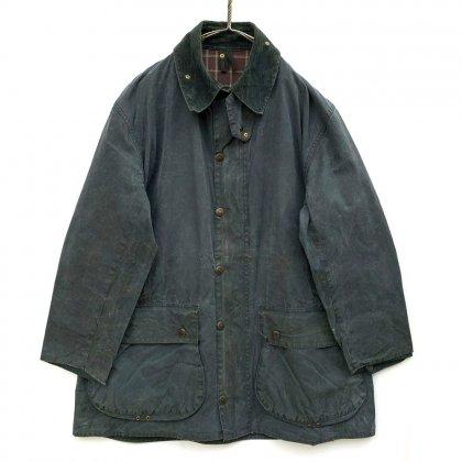 古着 通販 バブアー【Barbour】ボーダー【BORDER】ヴィンテージ ワックスジャケット【1990's】Vintage Waxed Jacket