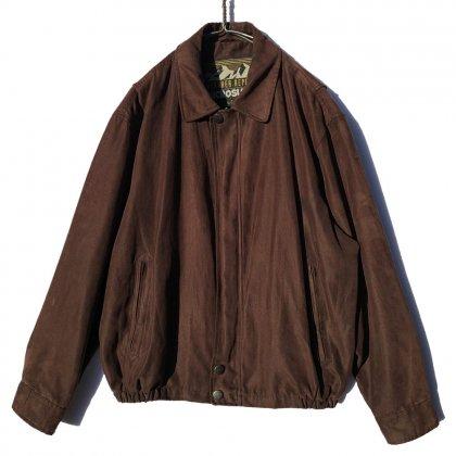 古着 通販 ヴィンテージ フェイクスエード ジャケット【1990's】Vintage Fake Suede Jacket