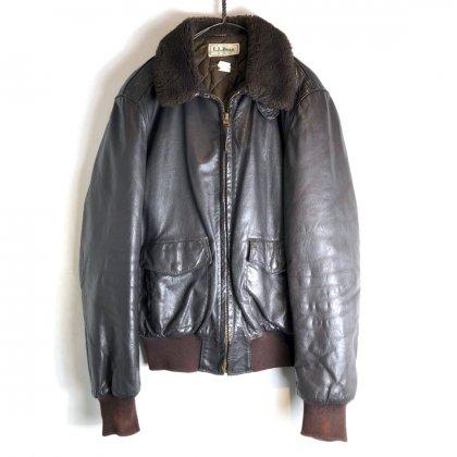 古着 通販 エルエルビーン【L.L.Bean】ヴィンテージ フライトジャケット【1980's】Vintage Type : G-1 Flight jacket