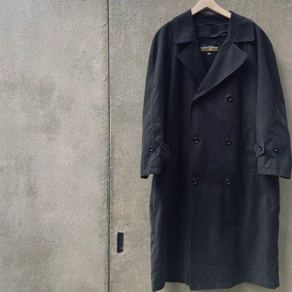 古着 通販 Peach Skin Coat × Cotton Sweater Style