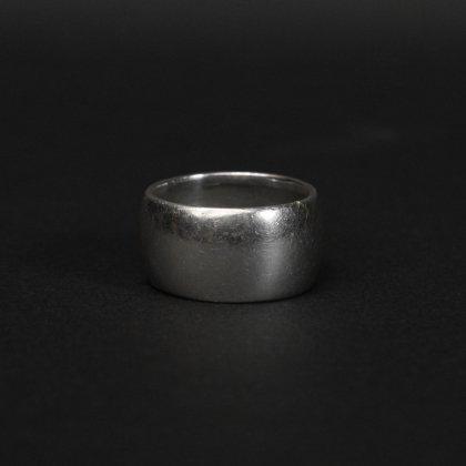 古着 通販 ヴィンテージ シガー ワイド バンド リング【melt - Sterling】Solid Round