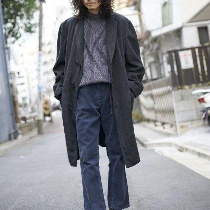 古着 通販 Vintage Coat × Flare Corduroy Pants Style