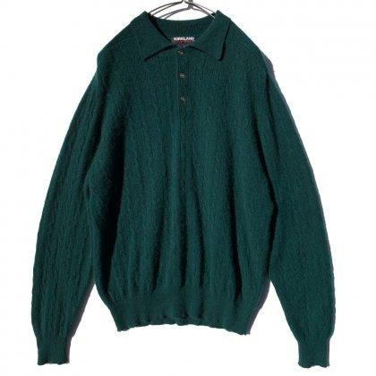 古着 通販 ヴィンテージ カシミア ニットポロ【1990's-】Vintage Cashmere Knit  Polo