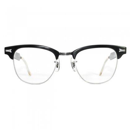 古着 通販 ヴィンテージ サーモント ブロー メガネ【Styl Rite Optics (SRO)】【1950's-】Alminum ブラック 48-22