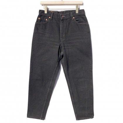 古着 通販 リーバイス 550 ブラック【Levis 550】Vintage Black Denim Pants W-30