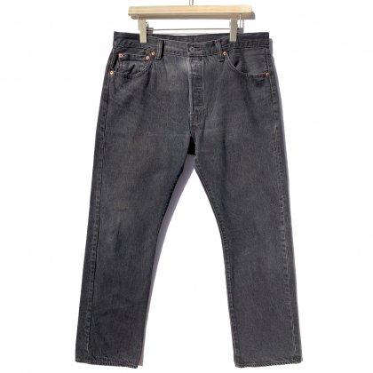 古着 通販 リーバイス 501 ブラック【Levis 501-0660 Made in Haiti】Vintage Black Denim Pants W-36 L-32