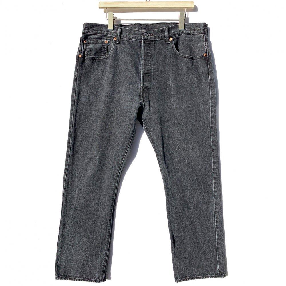 古着 通販 リーバイス 501 ブラック【Levis 501-0660 Made in Haiti】Vintage Black Denim Pants W-38 L-30