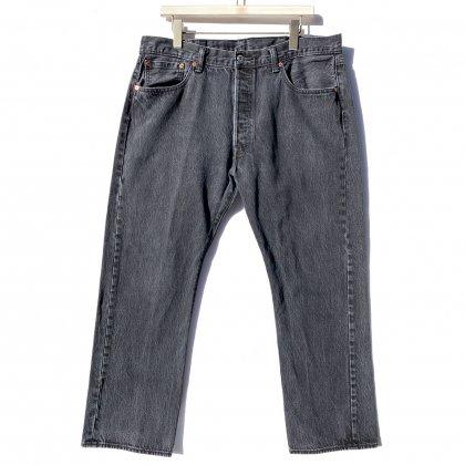 古着 通販 リーバイス 501 ブラック【Levis 501-0660 Made in Egypt】Vintage Black Denim Pants W-38 L-30