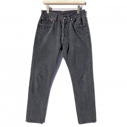 古着 通販 リーバイス 501 ブラック【Levis 501-0660 Made in USA】【1990's】Vintage Black Denim Pants W-31 L-34