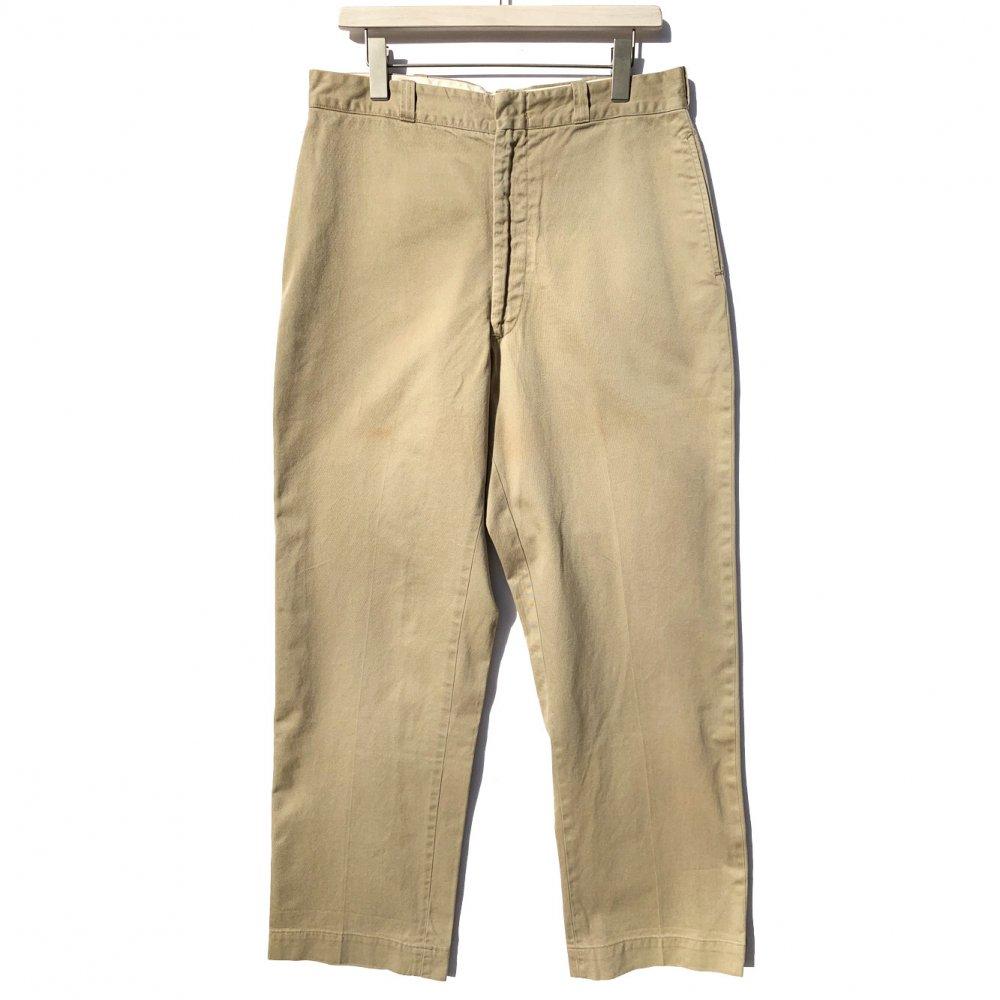 古着 通販 【U.S.ARMY】ミリタリー チノトラウザーズ【1960s-】Vintage Chino Trousers